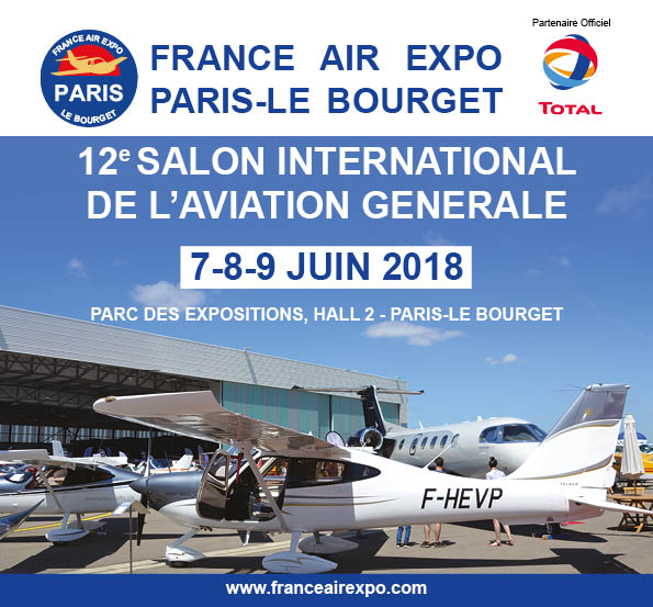La FFPLUM vous invite à France Air Expo Paris-Le Bourget