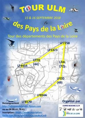 Tour ULM des Pays de la Loire