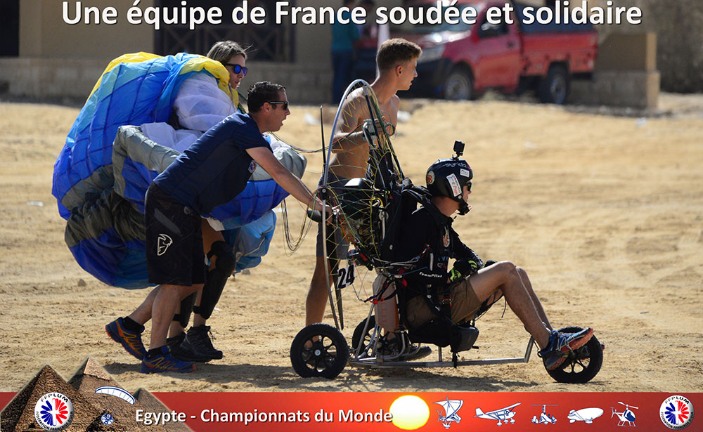 L'équipe de France unie et efficace