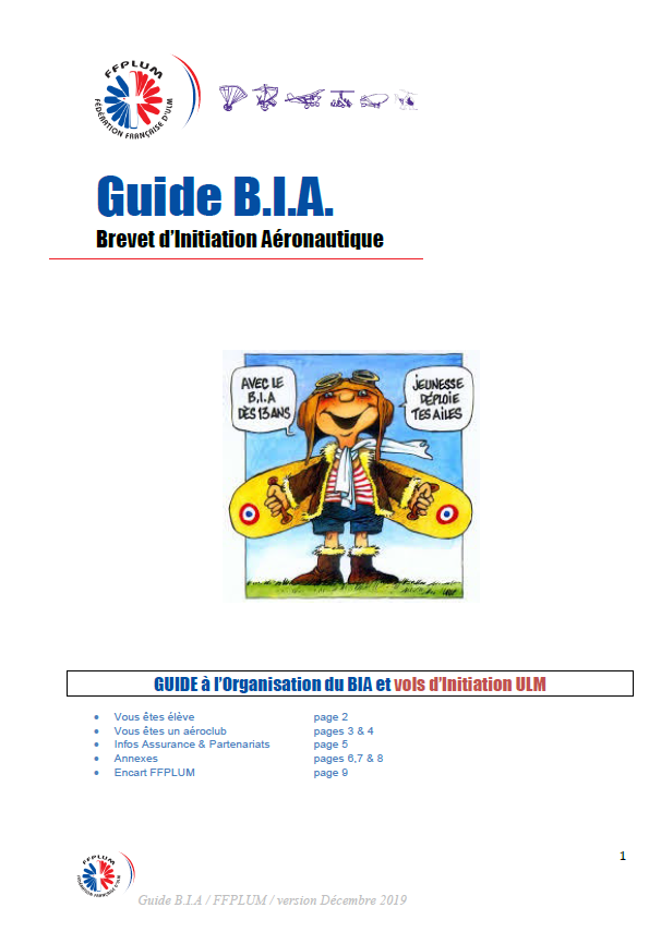 Guide BIA
