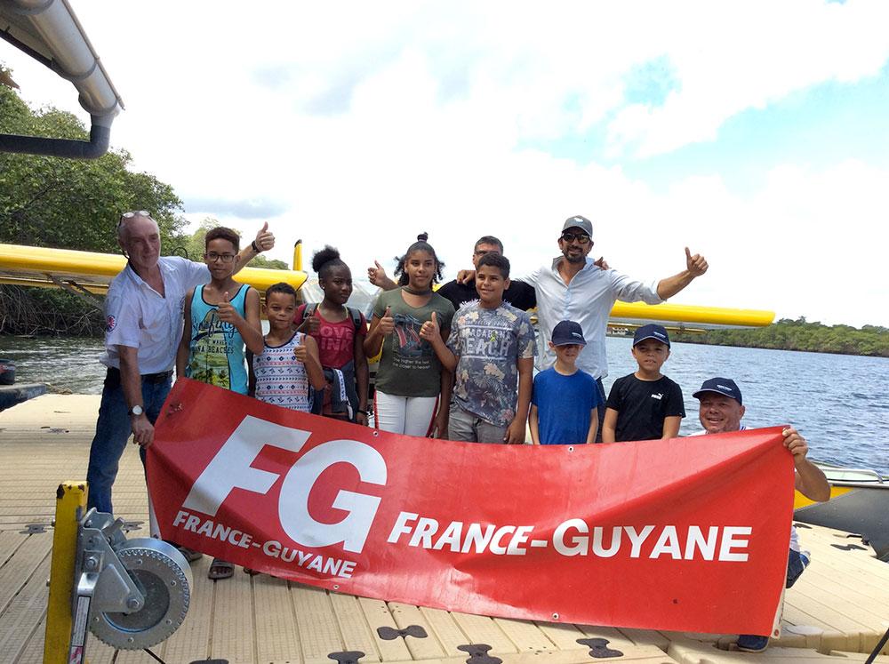 Action Voler Jeunes en Guyane