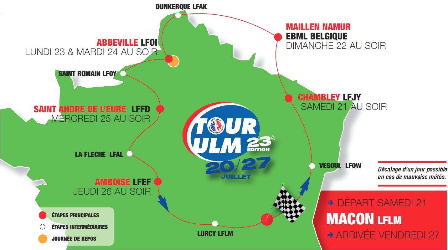 23ème Tour ULM : J-2 !