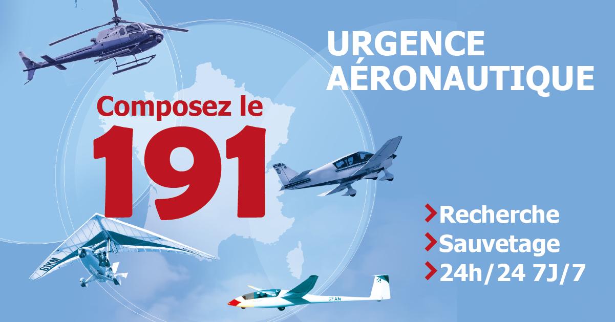 191 : le numéro d'appel d'urgence aéronautique